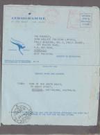 USED AEROGRAMME (AS SCAN) - Aerogrammes