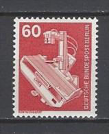 BERLIN - Mi-Nr. 582 Freimarken Industrie Und Technik Postfrisch - [5] Berlin