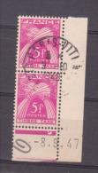 FRANCE / 1946-1955 / Y&T TAXE N° 85 (2 TP + Date) - Oblitération Du 09/10/1948. SUPERBE ! - Postage Due