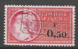 FISCAL  N° 393 OBL - Steuermarken