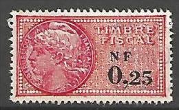 FISCAL  N° 328 OBL - Steuermarken