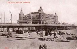 Postcard - Great Yarmouth Britannia Pier, Norfolk. 1906 - Great Yarmouth