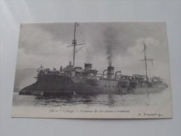 """"""" L´Alger """" Croiseur De 1er Classe à Barbette ( 549 ) ( Voir Photo Details ) !! - Guerre"""