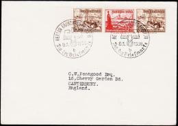 1938.  WINTERHILFSWERK 3+2 + 12+6 + 3+2 BERLIN FAHRBAHRES POSTAMT TAGE DER BRIEFMARKE 8... (Michel: W 132) - JF175914 - Unclassified