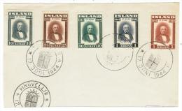 Island // Devant De Lettre 1944 - 1944-... Republique