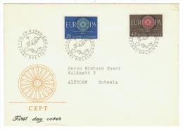 Finlande // Suomi Finland// Europa 1960  // FDC 1960 - Finlande