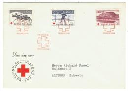 Finlande // Suomi Finland// Croix Rouge   // FDC 1960 - Finlande
