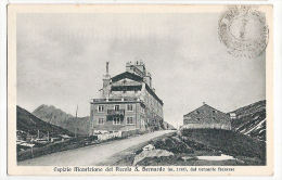 CPA Hospice Du Grand Saint Bernard St Valais Suisse Bourg-Saint-Pierre Ospizio Mauriziano Del Piccolo S Bernardo - VS Valais