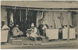 Zanzibar Native Shop Tailor Tailleur Machine A Coudre Sewing Machine Singer Edit A.R.P. De Lord - Tanzania