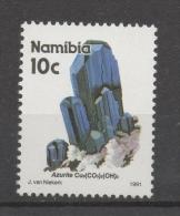 Namibia 1991 - Azzurrite Azurite Minerali Minerals MNH ** - Namibia (1990- ...)