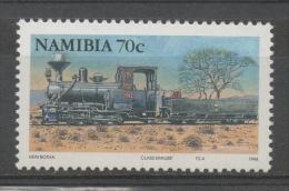 Namibia 1994 - Locomotiva A Vapore Treno Steam Locomotive Train MNH ** - Namibia (1990- ...)