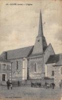 GEHEE - Eglise, Charrette, Place - France