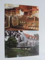 Restaurant DE WATERMOLEN ( Plooibaar Reclamekaart Carte De Visite / Zie Foto Voor Details ) !! - Cartes De Visite