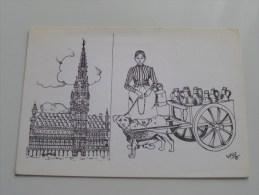 Comptoir Cartophile Pvba Georges Philips Brussel ( Zie Foto Voor Details ) !! - Collector Fairs & Bourses