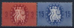 **Hungary 1946 Mi 878-79 (2) MNH - Ungarn