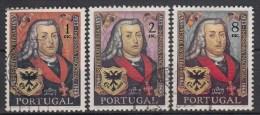 PORTUGAL - Michel - 1969 - Nr 1073/75 - Gest/Obl/Us - 1910-... République