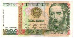 Peru´ 1000 Intis 1988 - Peru