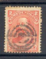 NEWFOUNDLAND, Postmark Target Cancel - Newfoundland