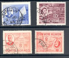 NORTH BORNEO, Postmarks Jesselton, Kudat, Labuan, Tawau - Bornéo Du Nord (...-1963)