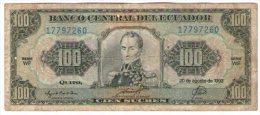Ecuador 100 Sucres  1993 - Ecuador