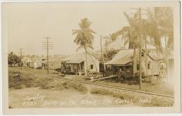 Real Photo Puerto Cortes Honduras North Of The Wharf Railway - Honduras