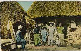 San Antonio Mexican Dancers In Front Of Their Palace ( Depreciative ) White American Looking  . P. Used 1921 - San Antonio