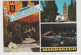 FaF034a MAROKKO - / Münzmotiv Ex Marakech 1981 - Marokko (1956-...)