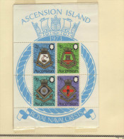 "Ascension (1973)  - BF ""Blasons De La Marine Royale"" Neufs** - Ascensione"
