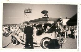 Photo au format CPA vieille voiture  TB