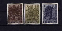 """Liechtenstein (1958)  - """"Arbres"""" Neufs** - Liechtenstein"""
