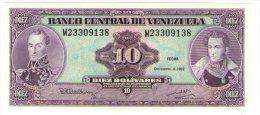 Venezuela 10bolivares 1992 - Venezuela