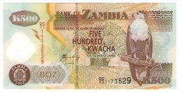 Zambia 500 Kwacha Polymer - Zambia