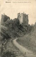 BLAMONT Ruines Et Tranchée Du Chemin  De Fer - Blamont