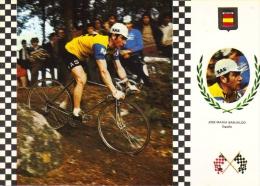 José Maria Basualdo  (Espagne)  -  Serie Ciclismo/Cyclisme  -  CPM - Cycling