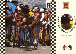 José Manuel Fuente  (Espagne)  -  Serie Ciclismo/Cyclisme  -  CPM - Cycling