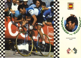Agustin Tamames  (Espagne)  -  Serie Ciclismo/Cyclisme  -  CPM - Radsport