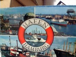 GERMANY DEUTSCHLAND Hamburg Hafen  Nave Ship  Cargo  Vues  VB1957 EV1270 - Germania