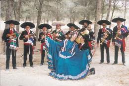 """C P M--MEXIQUE--LES MARIACHIS """"JALISCO""""  De GILBERTO PIEDRAS--disque ARION---voir 2 Scan - Mexique"""