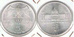 ALEMANIA DEUTSCHES MARK 5 MARK 1971  C  PLATA SILBER. F1 - [ 6] 1949-1990 : RDA - Rep. Dem. Alemana