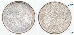 ALEMANIA DEUTSCHES MARK 5 MARK 1975  F   PLATA SILBER. F1 - [ 6] 1949-1990 : RDA - Rep. Dem. Alemana