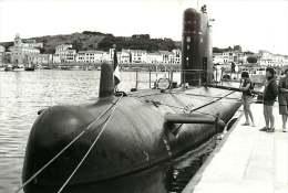PHOTO - BATEAU - 030715 GUERRE - SOUS MARIN BEVEZIERS à Quai - 66 PORT VENDRES STUDIO SANCHEZ - Sous-marins
