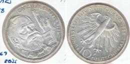 ALEMANIA DEUTSCHES MARK 10 MARK  ZEISS 1988  F  PLATA SILBER. G1 - [ 6] 1949-1990 : RDA - Rep. Dem. Alemana