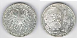 ALEMANIA DEUTSCHES MARK 10 MARK 1988  F  PLATA SILBER. G1 - [ 6] 1949-1990 : RDA - Rep. Dem. Alemana