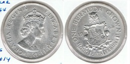 BERMuDA DOLLAR 1964 PLATA SILVER G3 - Bermudas