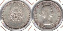CANADA  DOLLAR  1964 PLATA SILVER F1 - Canada