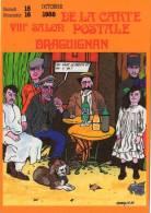 VAR DRAGUIGNAN SALON DE LA CARTE POSTALE ILLUSTRATEUR  FABIEN MOREAU 1988 BOISSON ALCOOL BAR I - Collector Fairs & Bourses