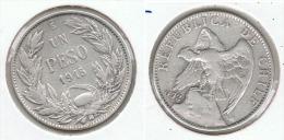 CHILE PESO 1915 PLATA SILVER G1 - Chile