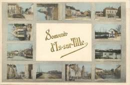 - cote dor - ref- A416 -  is sur tille - carte souvenir multi vues ( 12 photos ) - carte colorisee - carte bon etat -