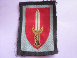 ECUSSON DE BRAS UNIFORME - Escudos En Tela