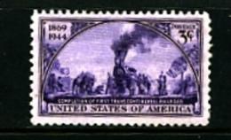 UNITED STATES/USA - 1944   TRANSCONTINENTAL  RAILROAD  MINT NH - Stati Uniti